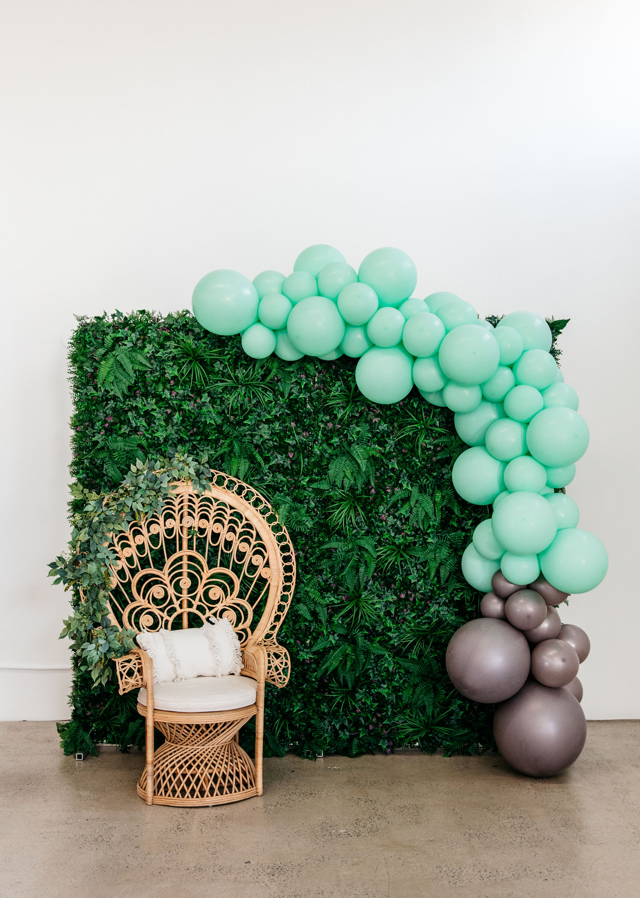 Pop & Petal Packages | Backdrops and Balloon Garlands Gold Coast The Petal Prop Co.